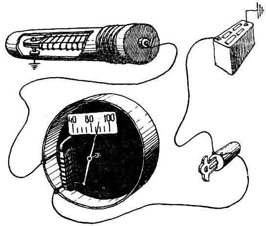 Рис. 2 Электрическая цепь.