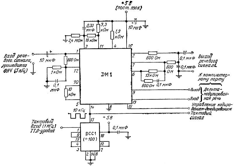 [DM1 - микросхема МС 3417